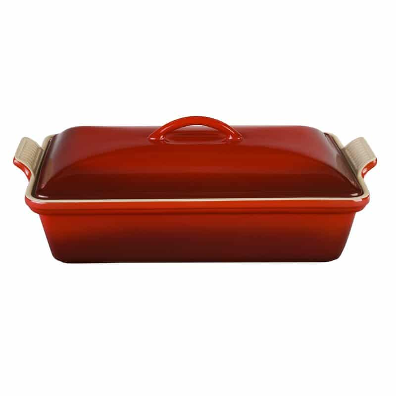 Le Creuset Stoneware 128 Oz. Heritage Casserole with Lid