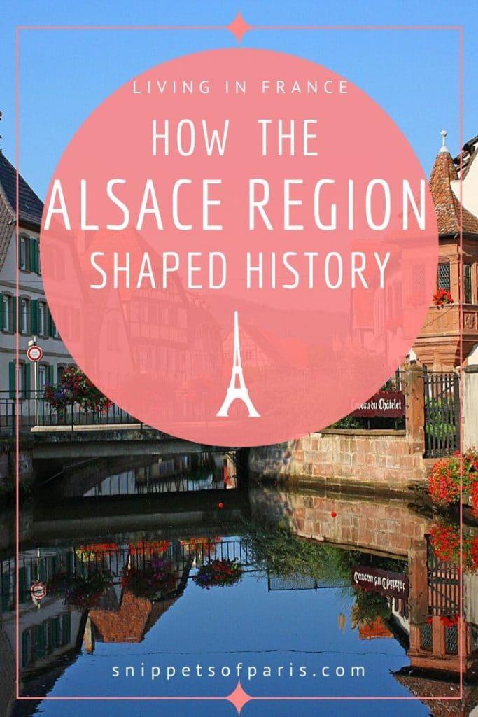 Alsace region pin for pinterest