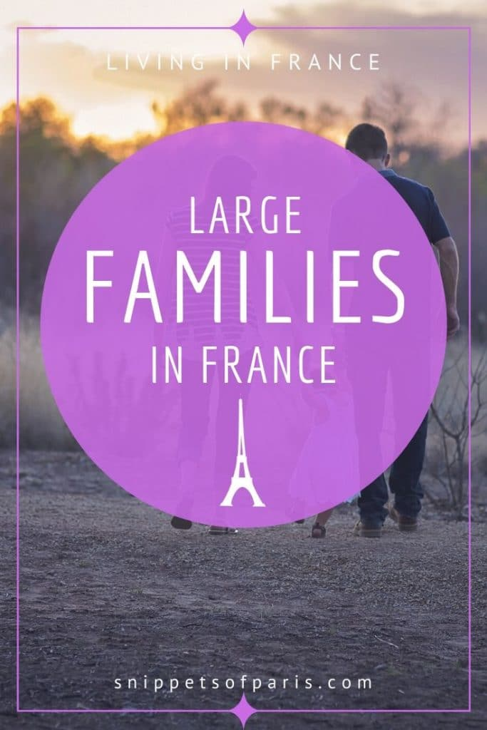 The Surprising Special Benefits that large families get in France 1