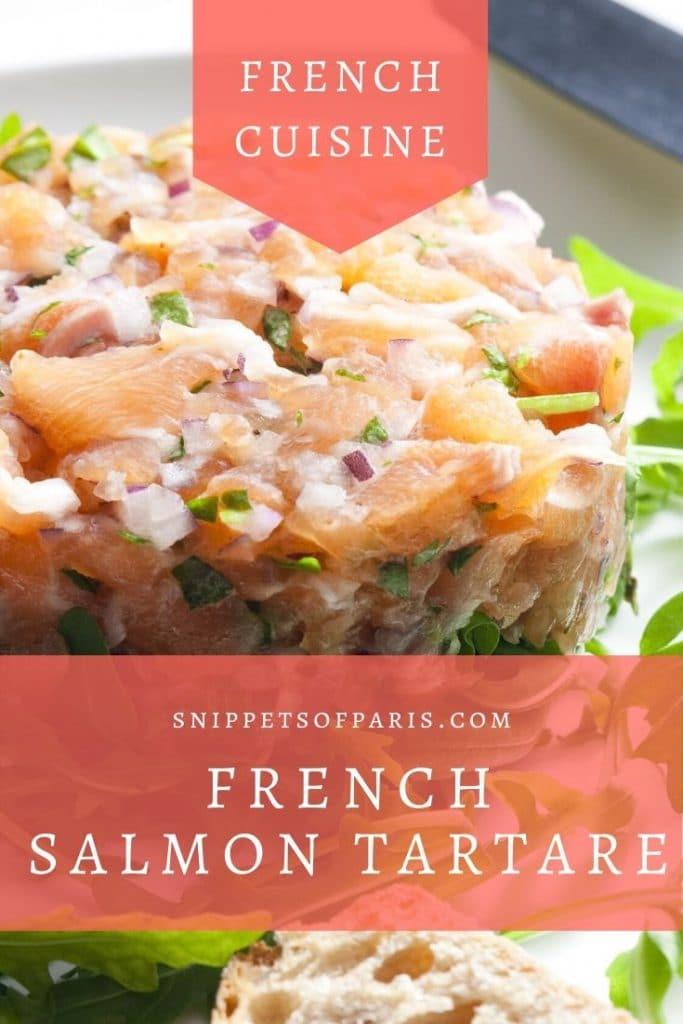 Gluten-free Starter: Salmon Tartare (French Recipe) 3