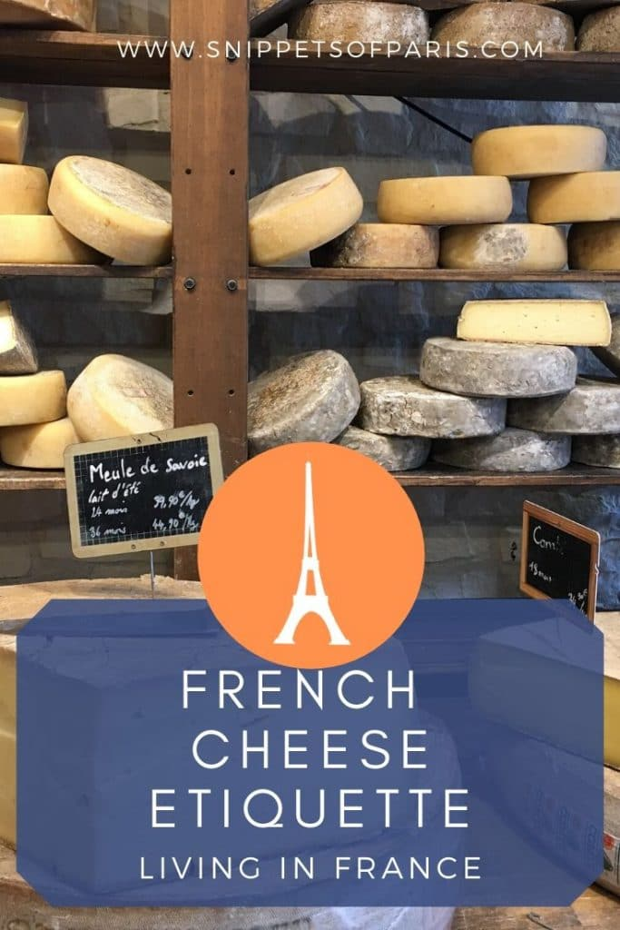 French cheese etiquette pin for pinterest
