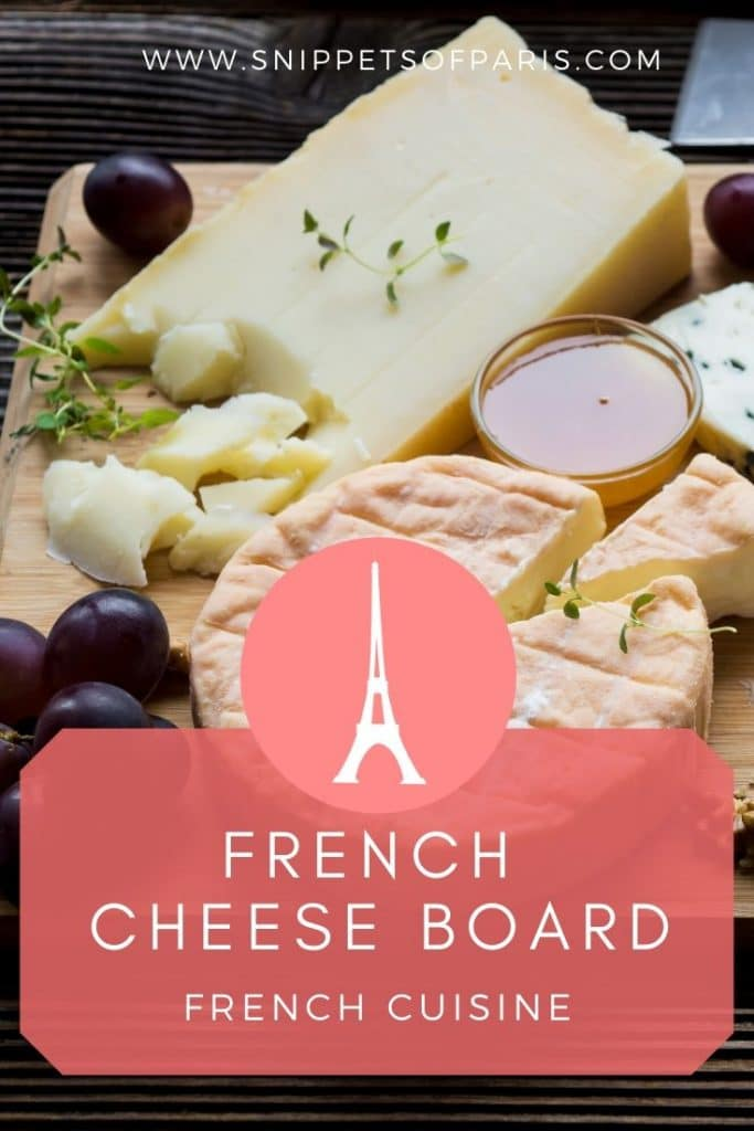 French cheese board pin for pinterest