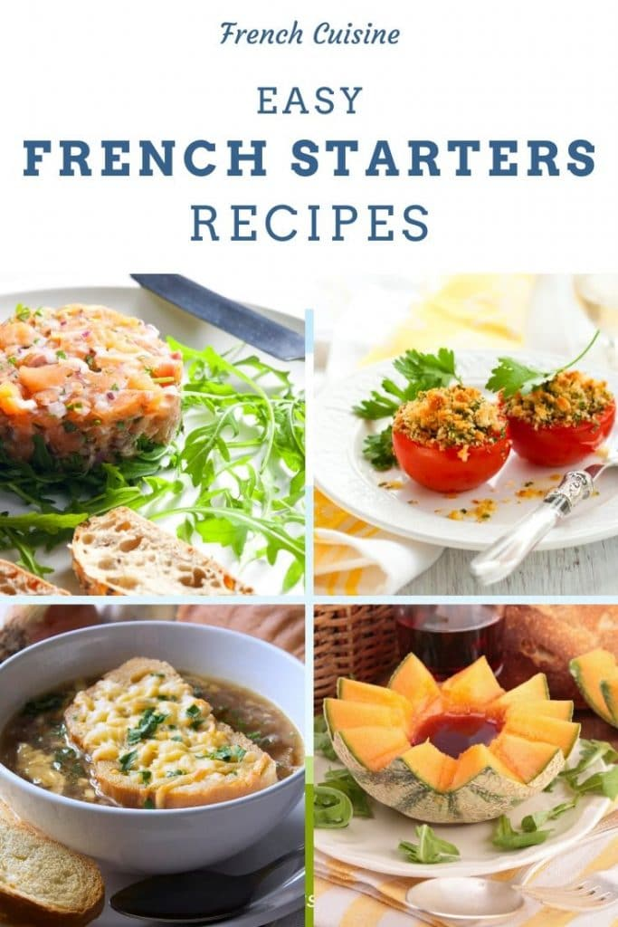 French Starters pin for pinterest