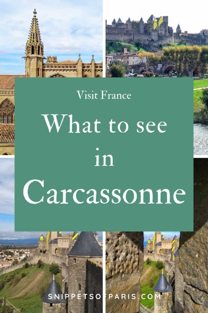 Things to do in Carcassone, France pin