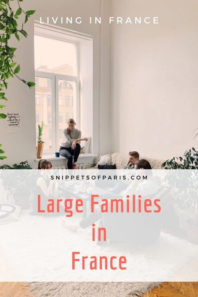 The Surprising Special Benefits that large families get in France 2