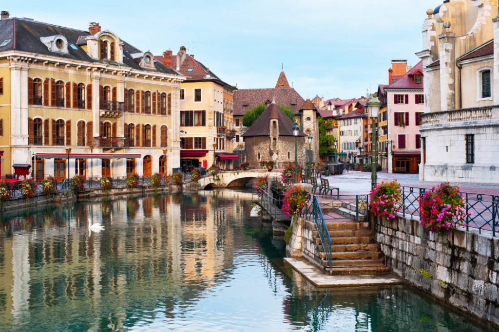 Palais de l'Isle and Old Town Annecy