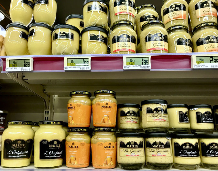 Varieties of Dijon Mustard