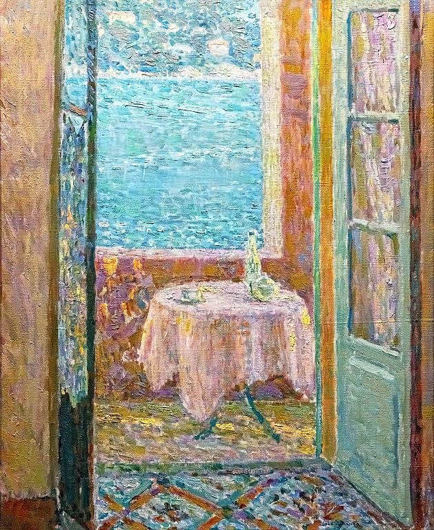 Bemberg Fondation - La Table de la mer, Villefranche-sur-Mer 1920 - Henri Le Sidaner