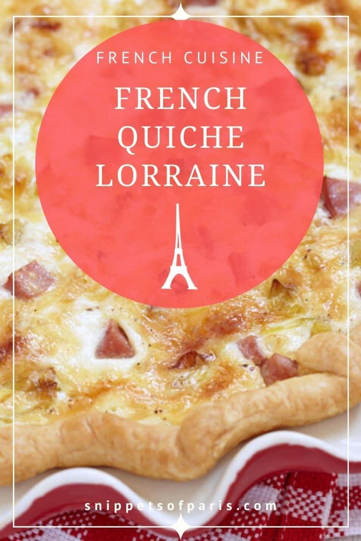 The Classic (but never boring) Quiche Lorraine Recipe