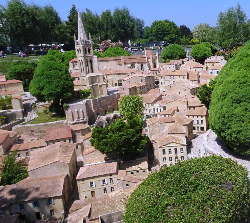 Village of Saint-Emilion at France Miniature themepark