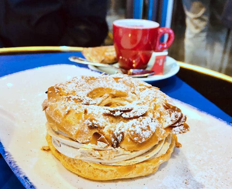 Paris- Brest French dessert