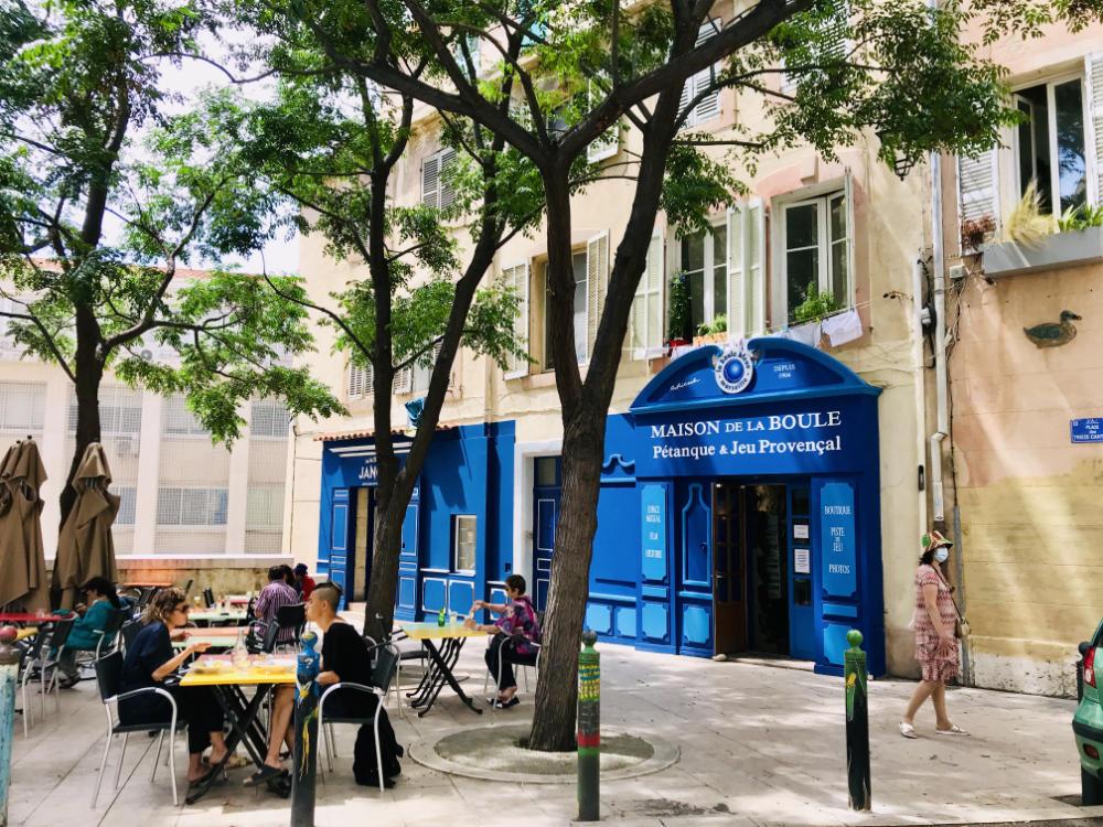 Maison de la Boule - Le Panier, Marseille