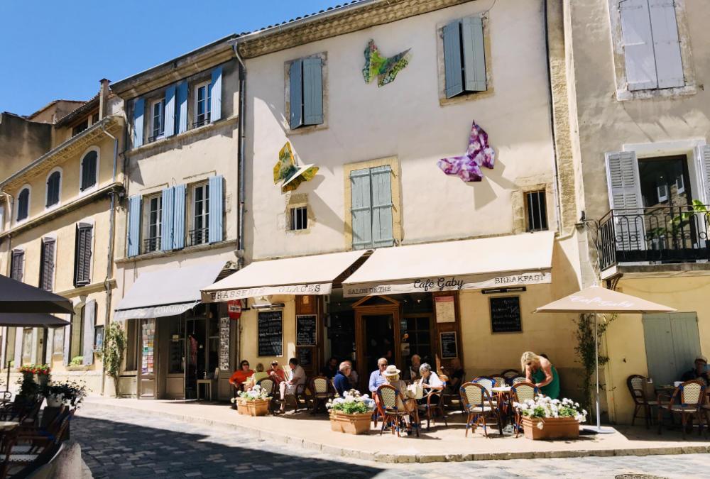 Restaurant in Lourmarin