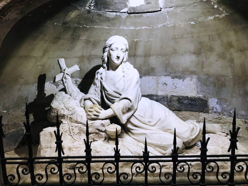 Mary Magdalene statue - Saint-Maximin-la-Sainte-Baume