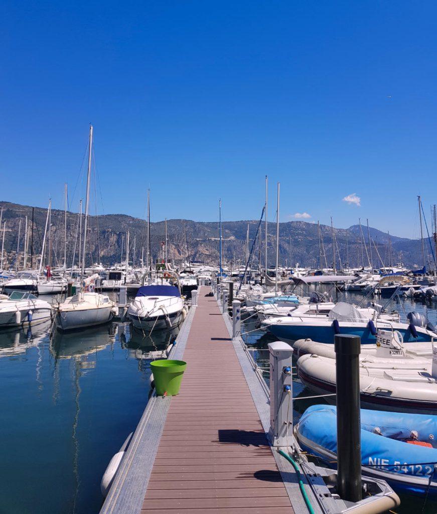 The port of Saint Jean