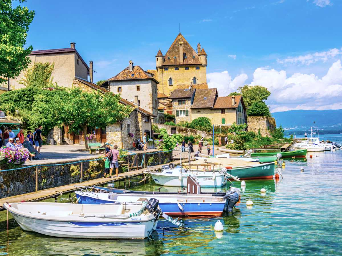 Yvoire: The French Medieval village on the Swiss Border