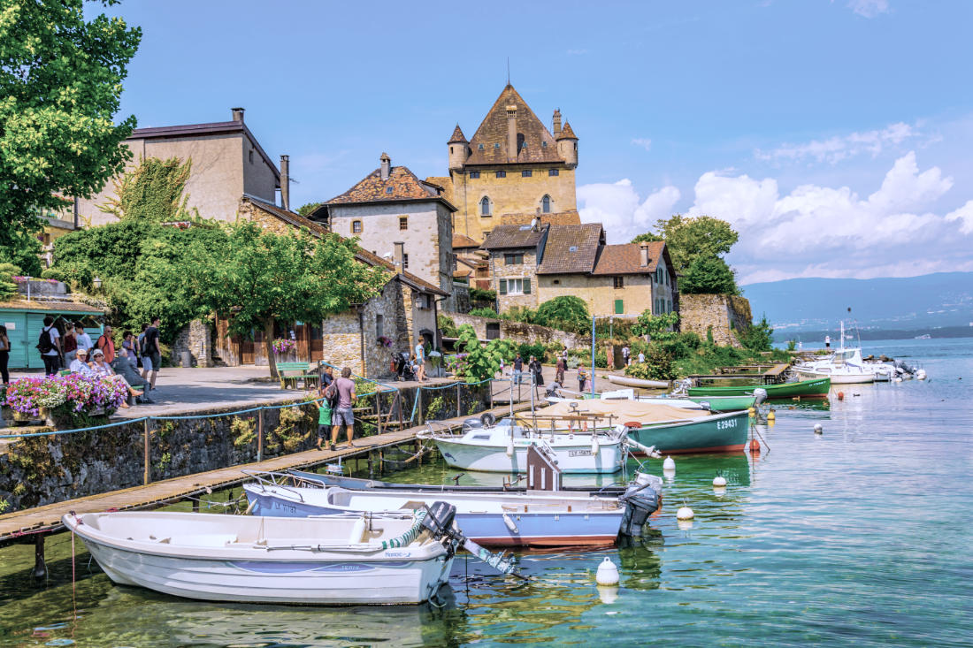 Yvoire: The Medieval village on the France-Switzerland Border