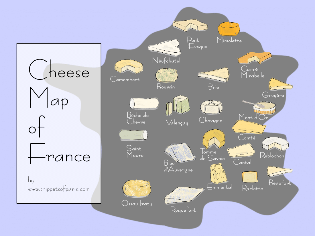 26 Types of French cheeses to try (or regret forever)