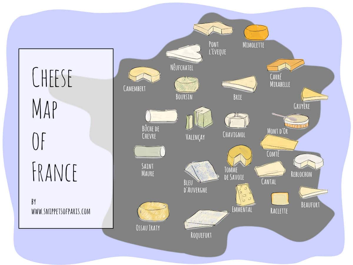26 Classic French Cheeses to get at your grocery store