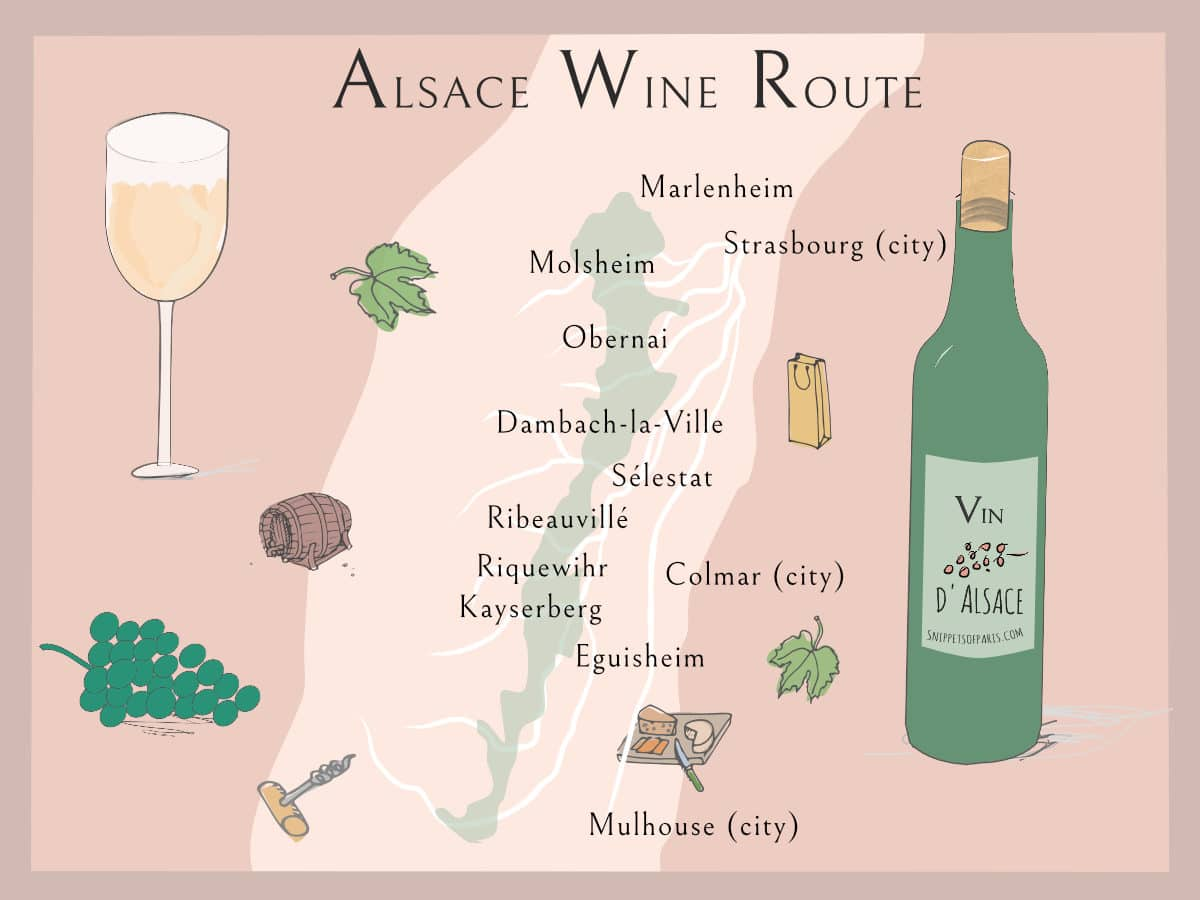 Read more about the article Wines from Alsace Region: From Reisling to Pinot Gris