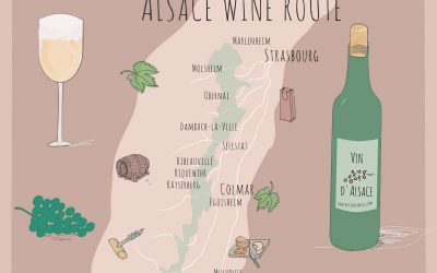 The Scintillating Wines from Alsace, France