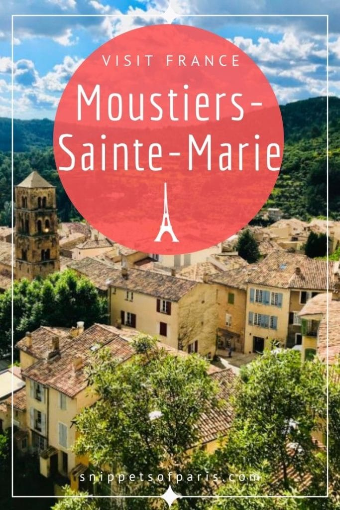 things to do in Moustiers-Sainte-Marie pin for pinterest