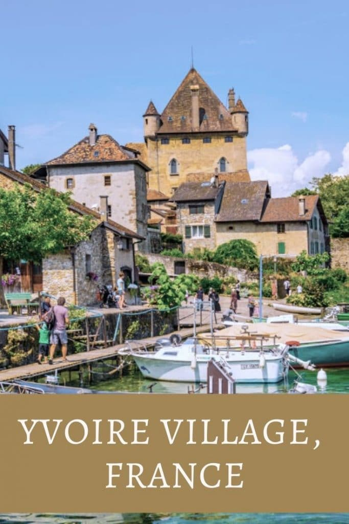 Yvoire France pin for pinterest