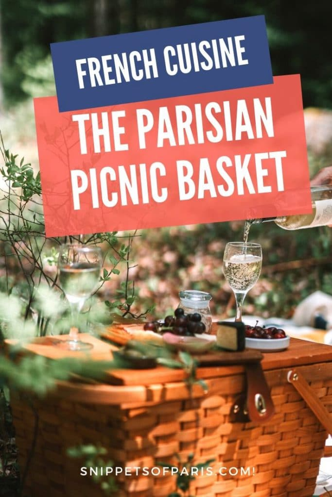 French picnic basket pin for pinterest