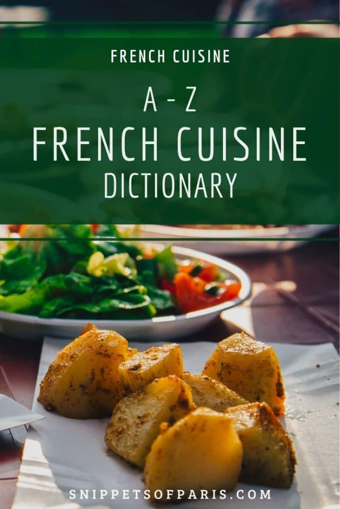 ABC of French Cuisine pin for pinterest