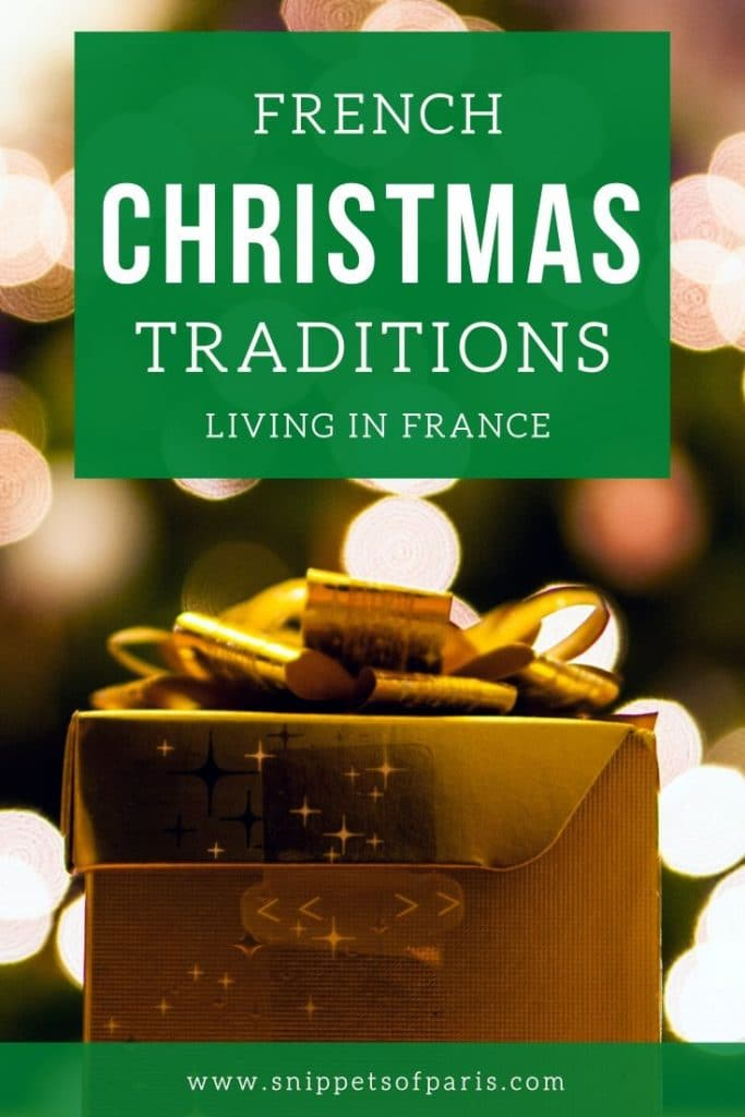 French Christmas traditions pin for pinterest