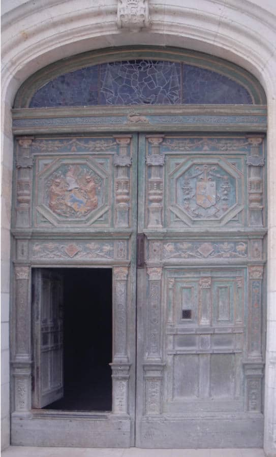 door at Chateau d'Amboise