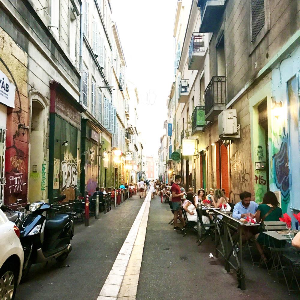 Rue des 3 Rois, Cours Julien