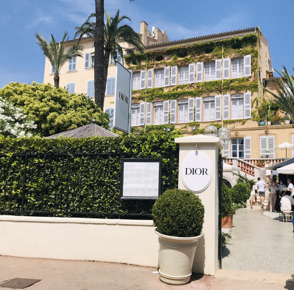 Christian Dior in Saint Tropez