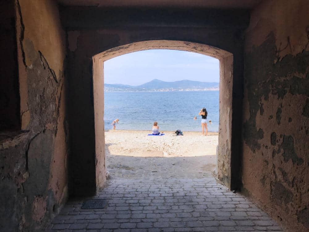 Sentier du Littoral Beach at Saint Tropez