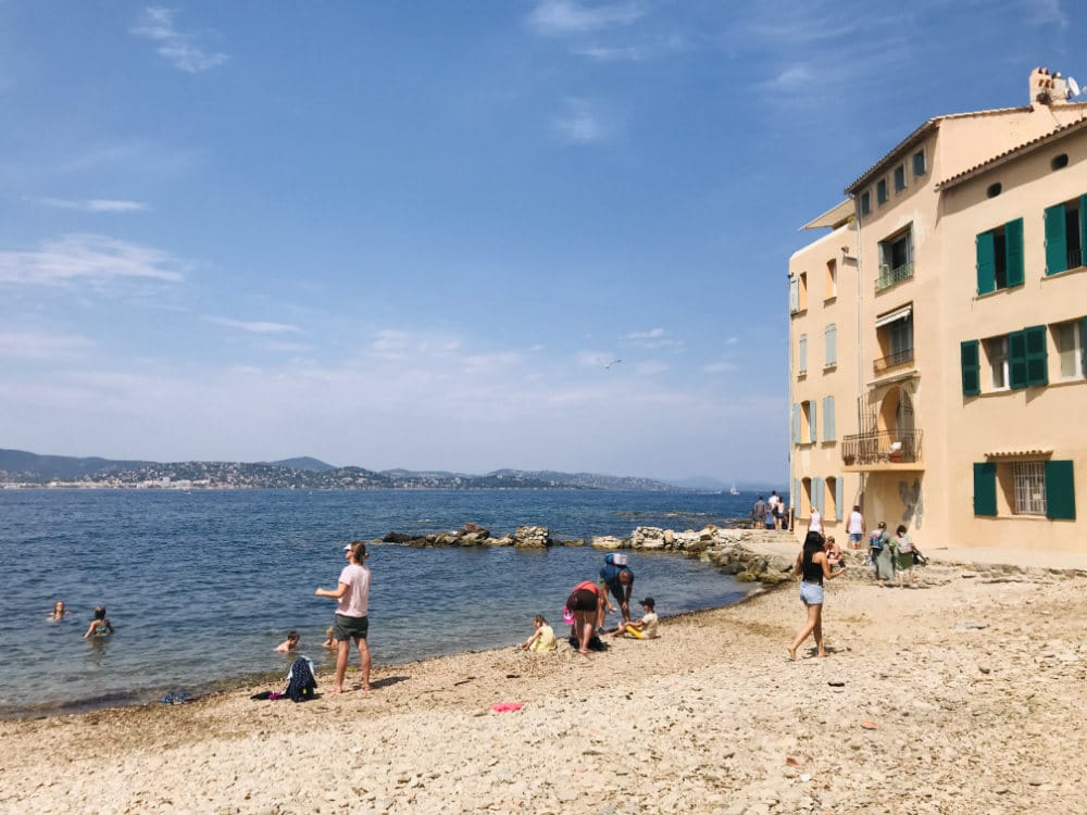 Beaches in French Riviera