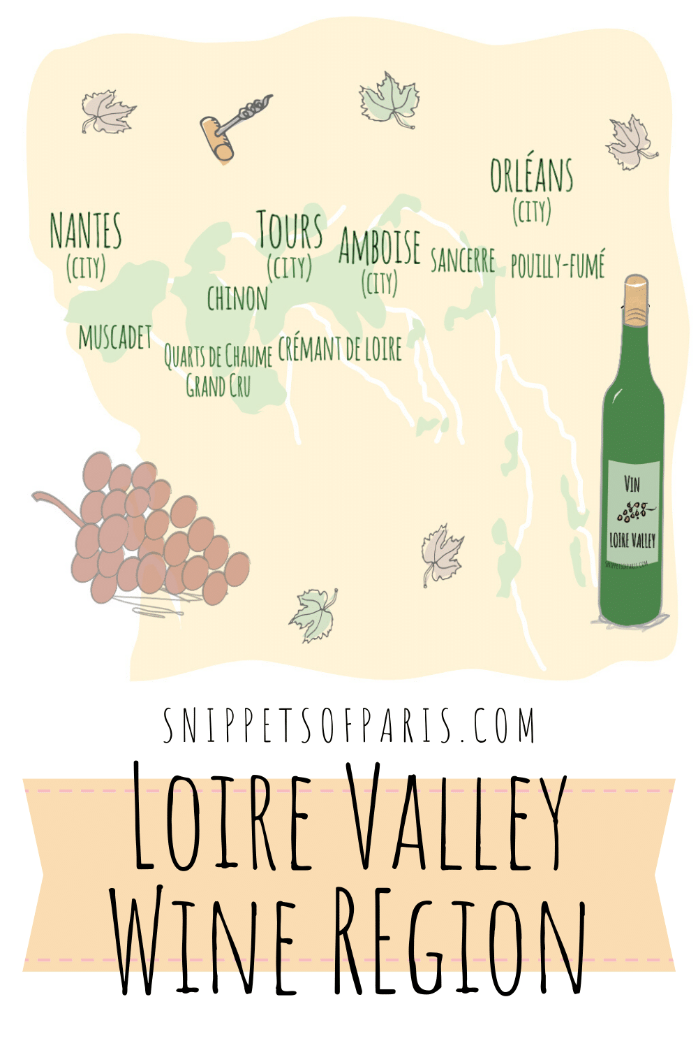 Loire Valley Wine Region: From Crémants to White wines