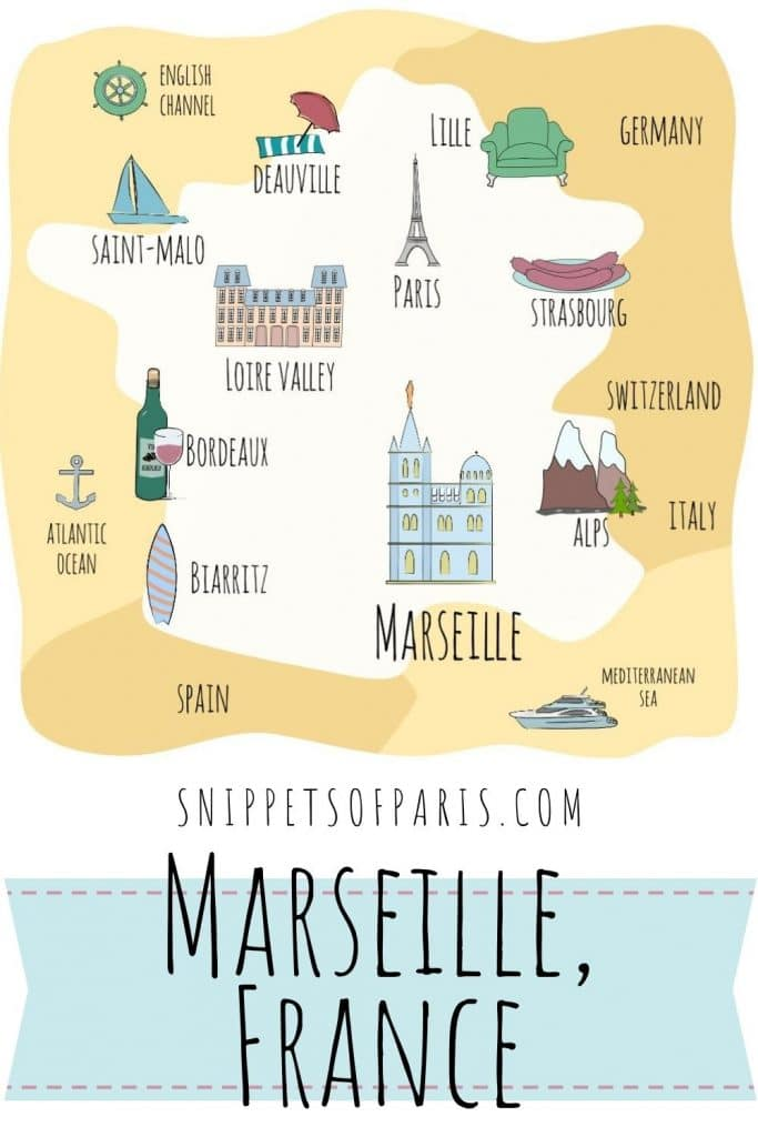 Delightful Things to do in Marseille France pin for pinterest