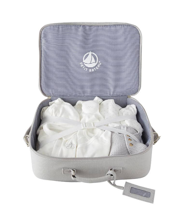 Petit Bateau Maternity Bag with starter kit