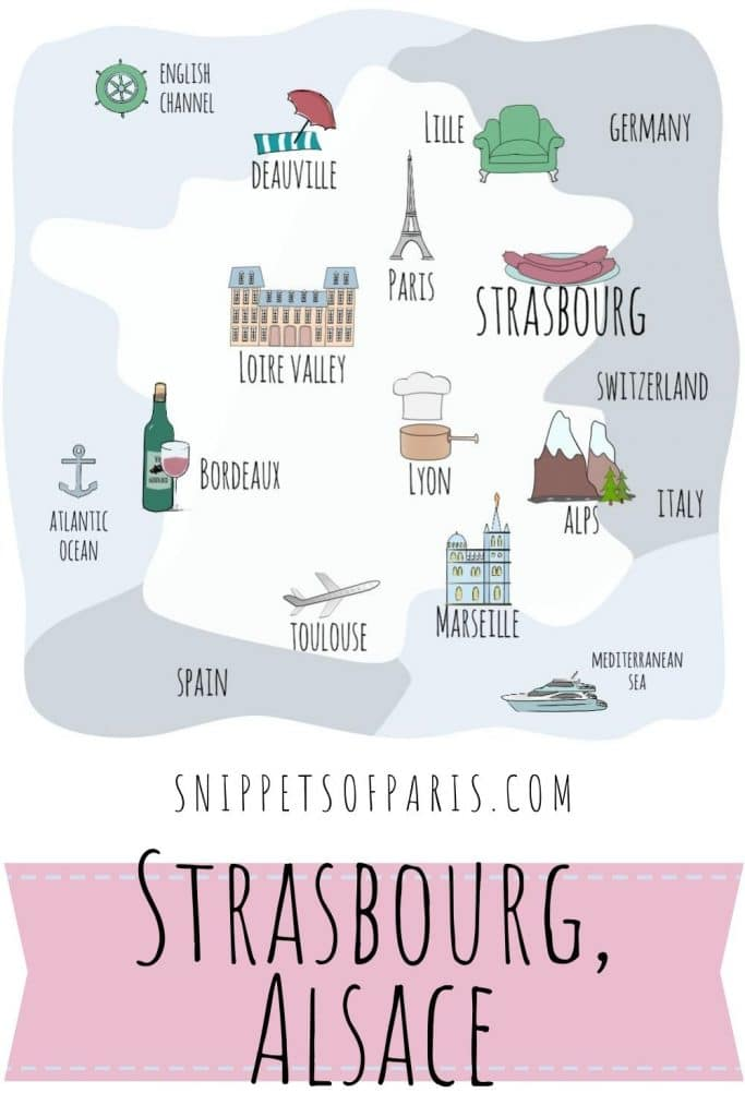 Things to do in Strasbourg France pin for pinterest