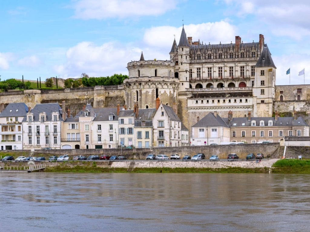Amboise in the Loire valley, France