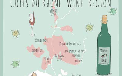 Côtes du Rhône wines: The Sun-drenched Vineyards