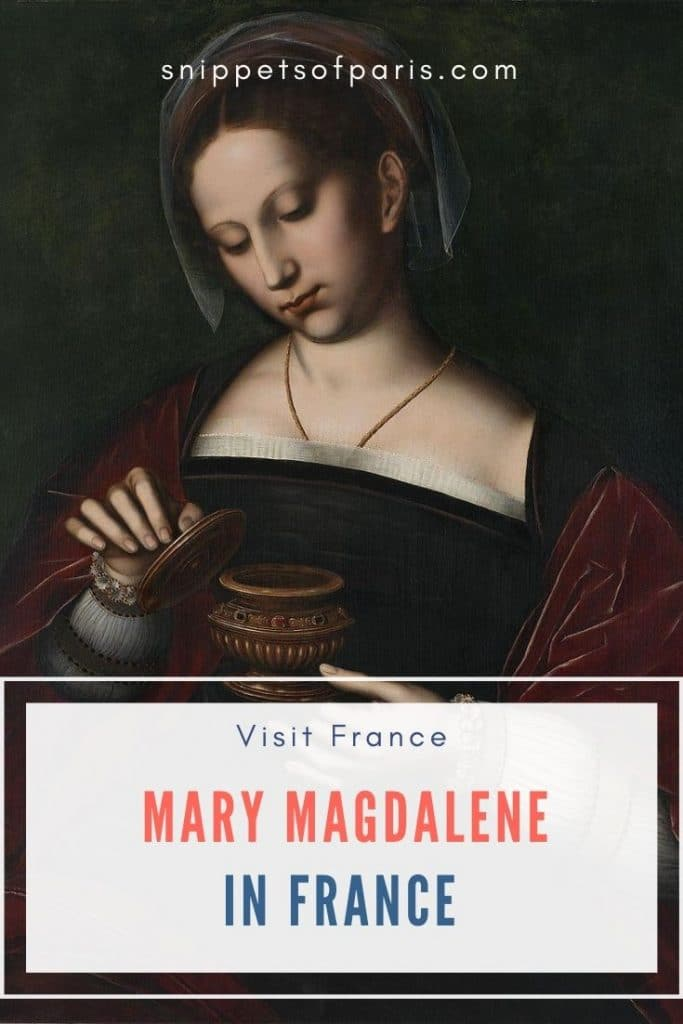 Mary Magdalene in France pin for pinterest