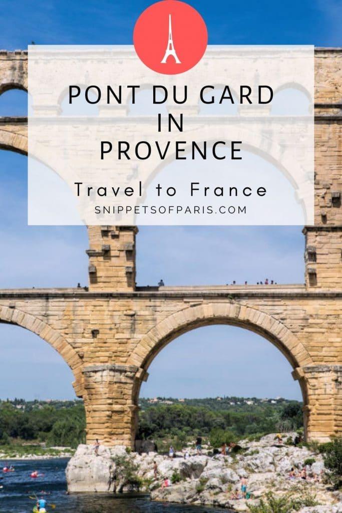 Pont du Gard in Provence France