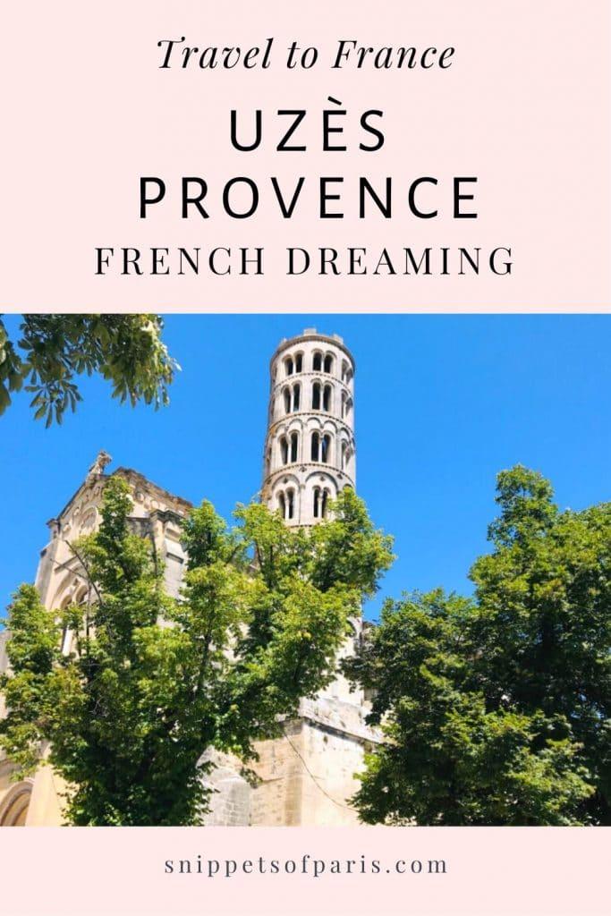 Uzès in Provence France