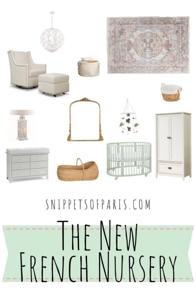 French nursery pin for pinterest