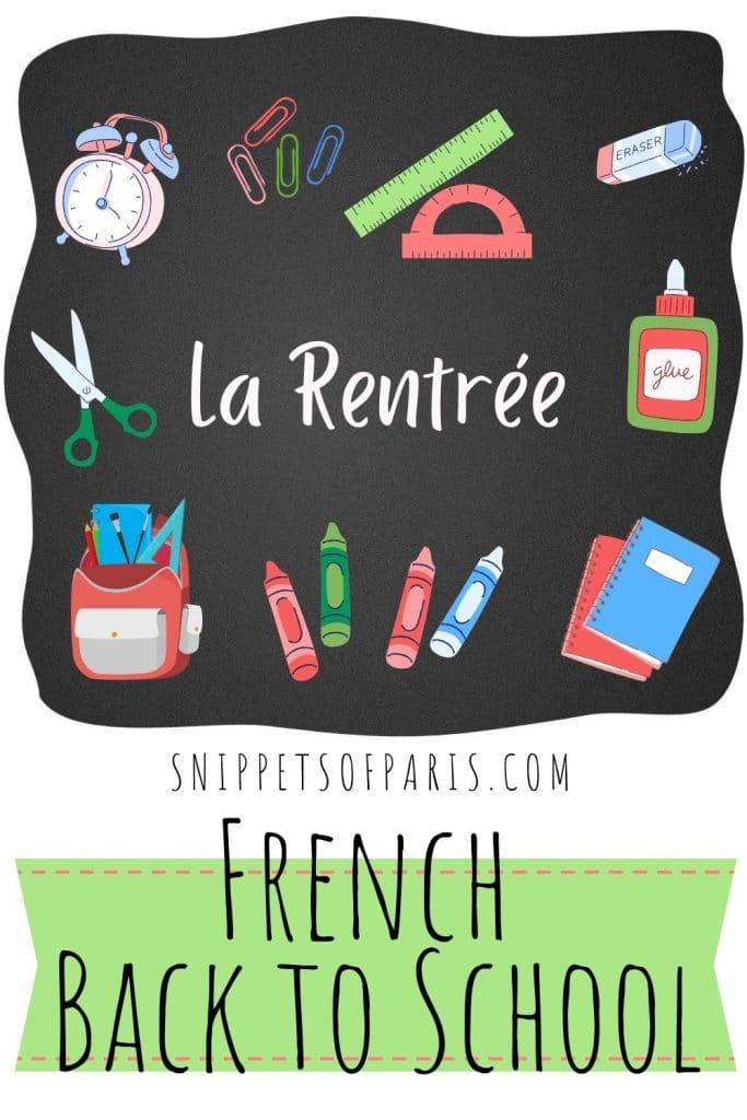 french back to school pin for pinterest