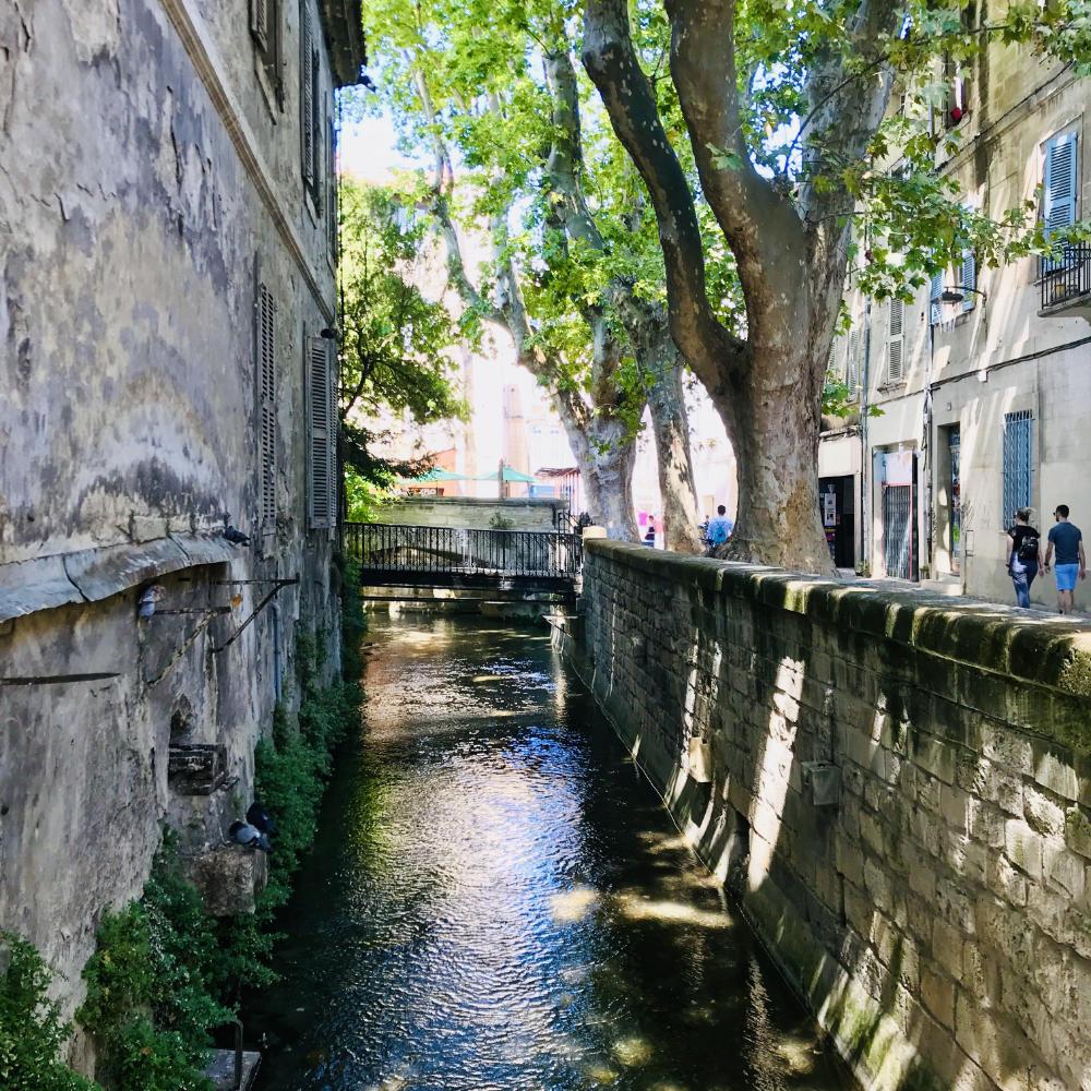 Canal along Rue des Teinturiers