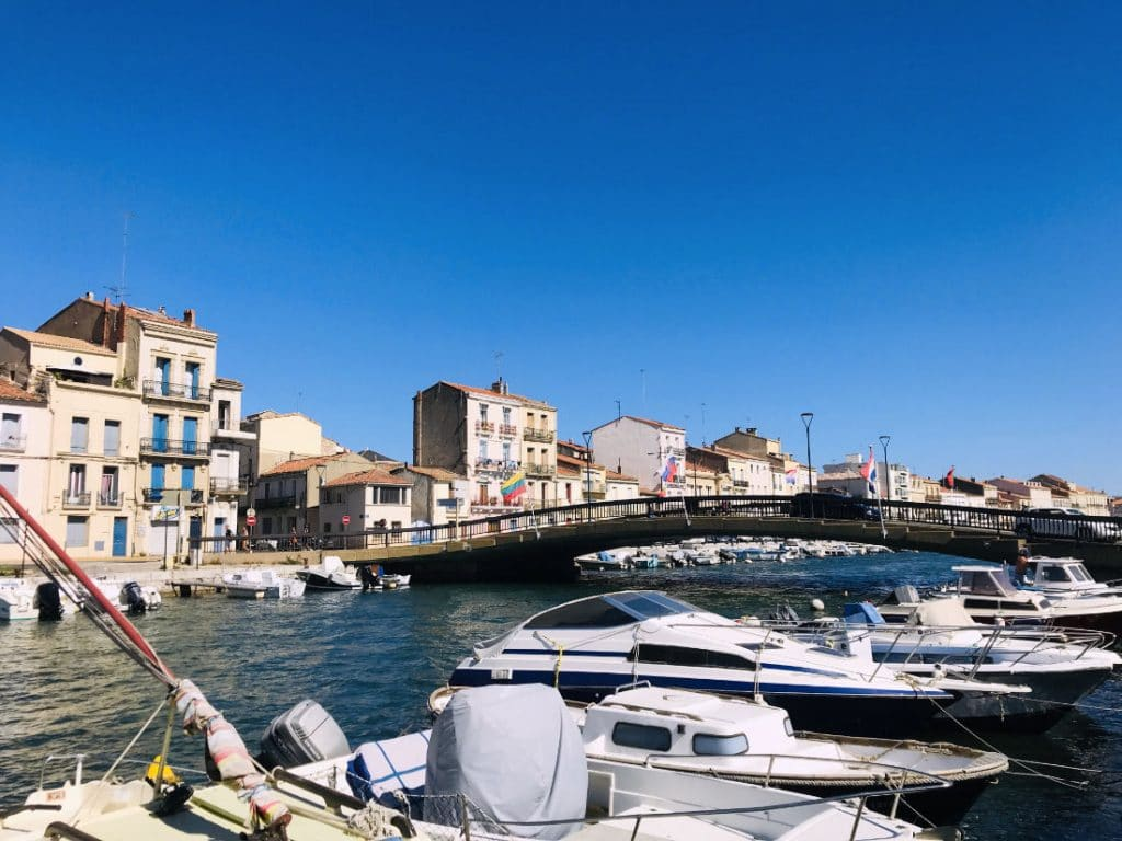 sete in the south of france