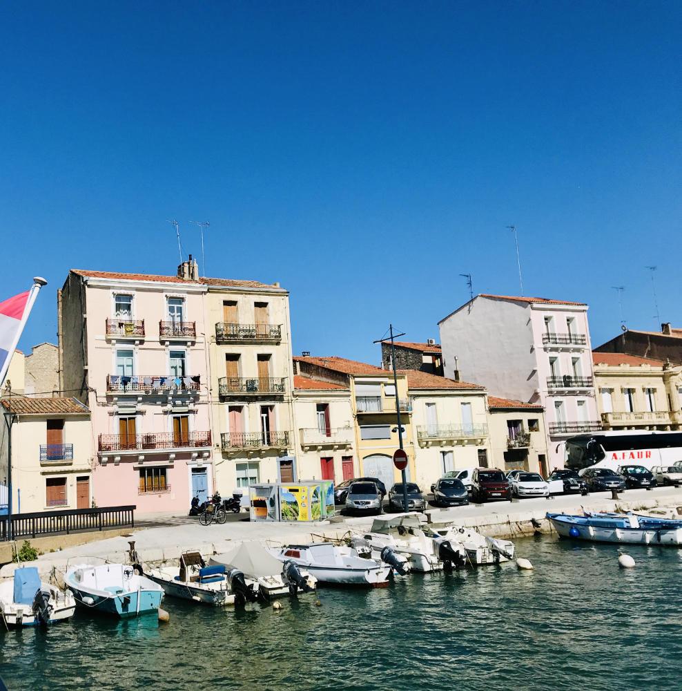 Sète harbour