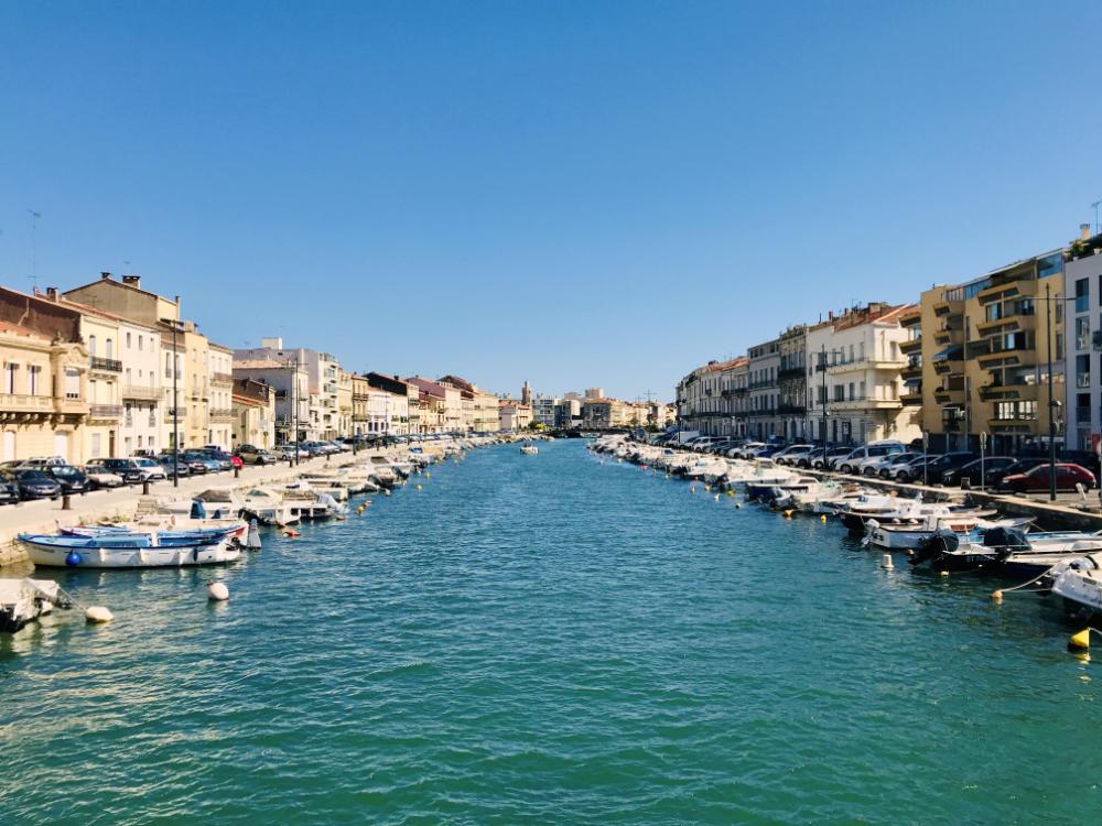 Royal canal in Sète
